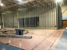 Framing for new classrooms